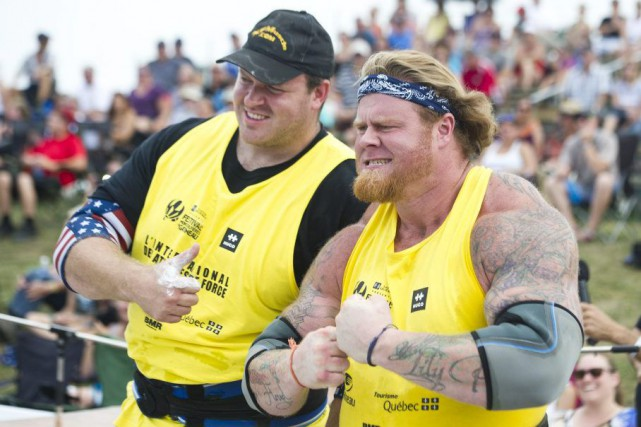 Dave Ostlund et Marshall White, l'équipe des États-Unis...