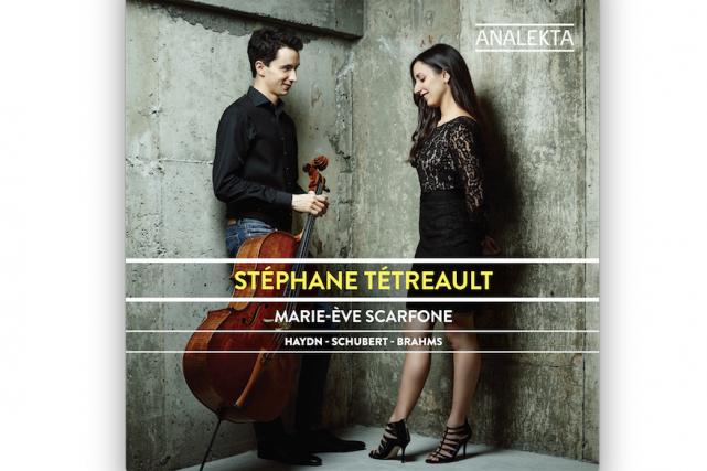 Haydn- Schubert- Brahms, Stéphane Tétreault et Marie-Ève Scarfone...