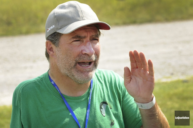 Alain Gauthier parle de son accident comme quelque... ((Photo Le Quotidien, Marianne L. St-Gelais))