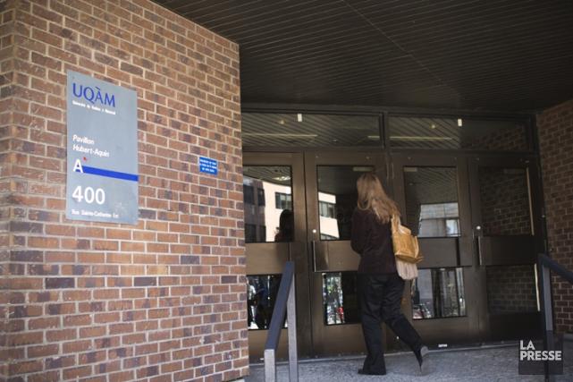 La sortie du recteur de l'Université du Québec à Montréal (UQAM), qui a déploré... (PHOTO NINON PEDNAULT, ARCHIVES LA PRESSE)