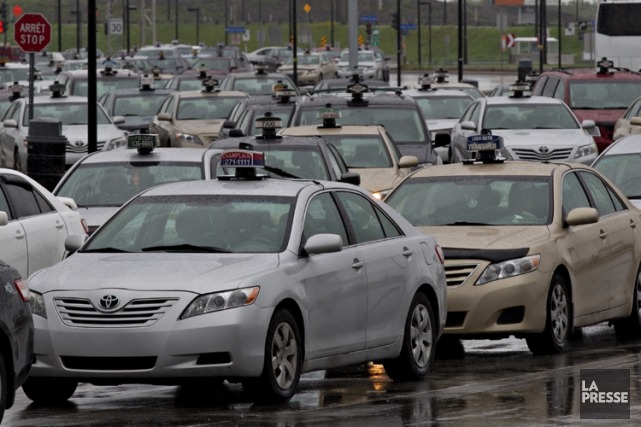 Les plaintes pour agressions sexuelles dans les taxis... (PHOTO OLIVIER JEAN, ARCHIVES LA PRESSE)