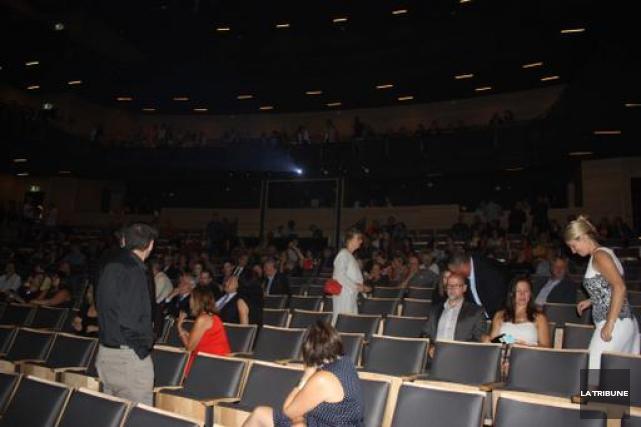 La salle de spectacle le Carré 150 de... (La Tribune, Yanick Poisson)