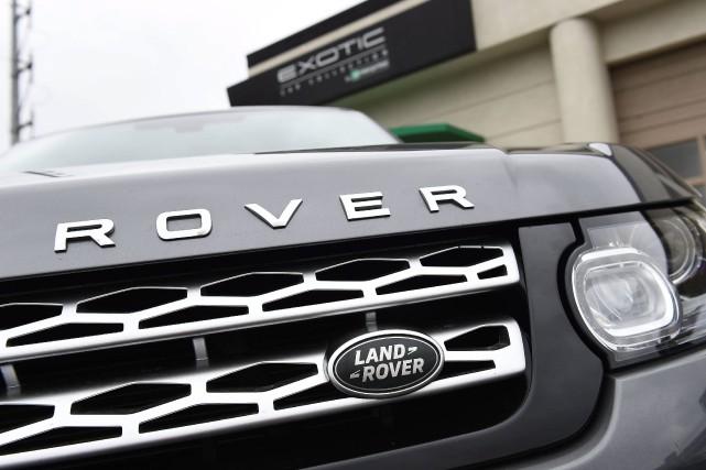 Deux modèles diesel de Range Rover et Range... (Photo Jordan Strauss, archives AP)