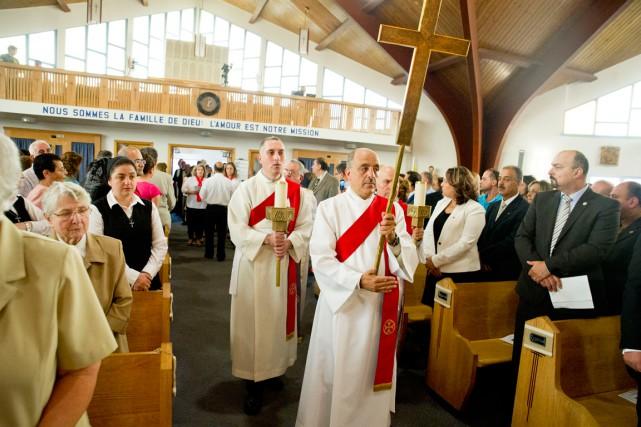 Les responsables de la communauté catholique syriaque d'Ottawa... (Martin Roy, LeDroit)