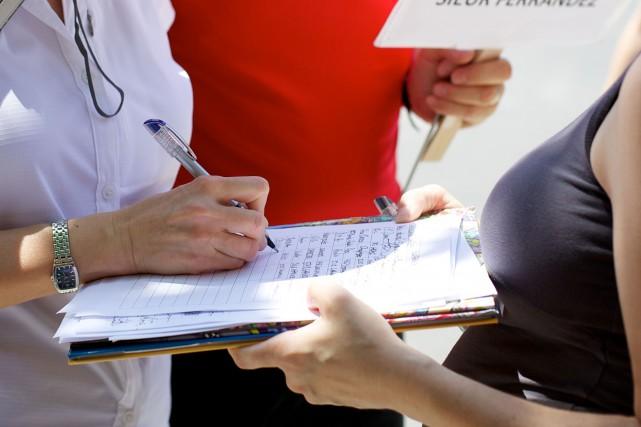 La pétition lancée par la coalition de citoyens engagés et d'organismes pour la... (Archives La Presse)
