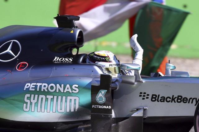 Lewis Hamilton... (Photo Alessandro Trovati, AP)