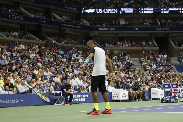 Nick Kyrgios... (Photo Geoff Burke, USA Today)