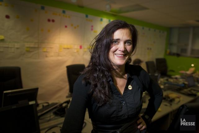 Sandrine Faust, directrice générale d'Allô prof.... (PHOTO ANDRÉ PICHETTE, ARCHIVES LA PRESSE)