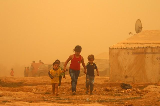 Le Liban semblait le pays le plus affecté... (PHOTO AFP/STR)