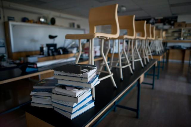 La Fédération autonome de l'enseignement (FAE),qui représente principalement... (Photo Jonathan Hayward, archives La Presse Canadienne)