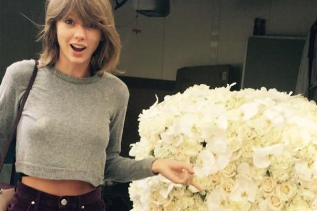 La hache de guerre entre Taylor Swift et Kanye West semble bel et bien... (PHOTO TIRÉE D'INSTAGRAM)