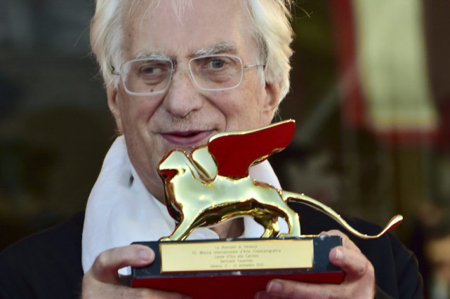Bertrand Tavernier a reçu un Lion d'or de... (PHOTO AFP)
