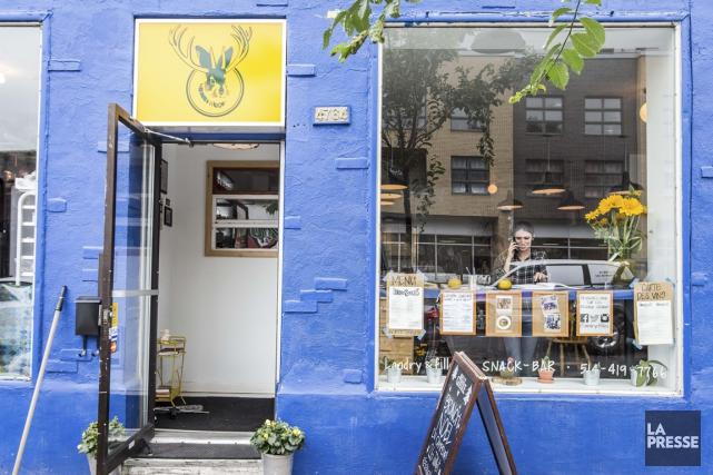 Chez Landry et filles, on réinvente la cuisine... (PHOTO OLIVIER PONTBRIAND, LA PRESSE)