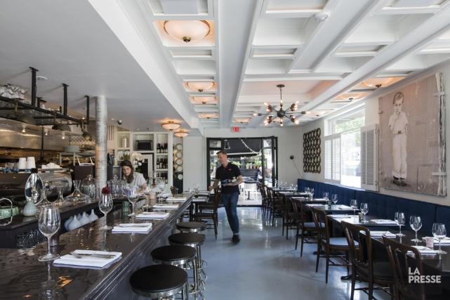 Salmigondis, restaurant dans la Petite Italie, à Montréal,... (Photo EDOUARD PLANTE-FRÉCHETTE, LA PRESSE)