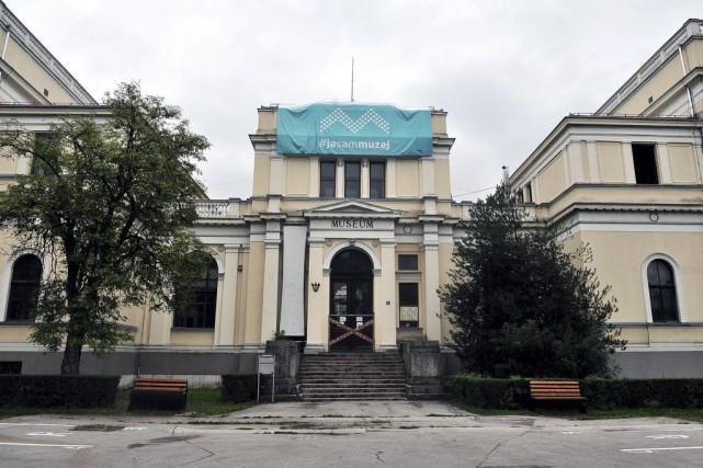 Le Musée national de Bosnie, fondé au XIXe siècle et qui abrite la célèbre... (PHOTO AFP)