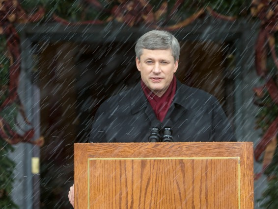 Le premier ministre Stephen Harper a déclenché des... (PHOTO TOM HANSON, ARCHIVES LA PRESSE CANADIENNE)
