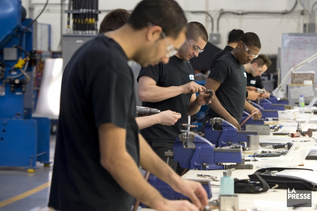 Les employeurs dans la région des Cantons de l'Est prévoient procéder à des... (Archives La Presse)