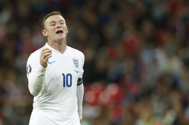 L'attaquant anglais Wayne Rooney.... (Photo Reuters)