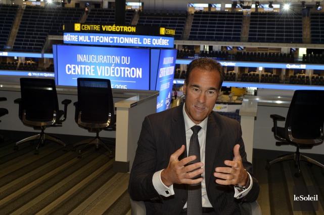 PierreDion, président et chef de la direction chez... (Photothèque Le Soleil, Pascal Ratthé)