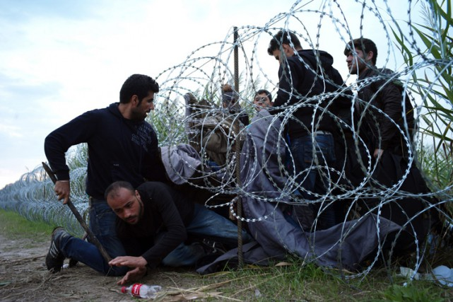 Le premier ministre hongrois a annoncé lundi que... (PHOTO AP)