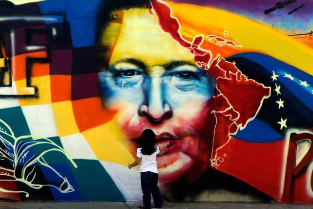 Le culte de la personnalité au Venezuela a franchi un nouveau cap, avec... (PHOTO AFP)