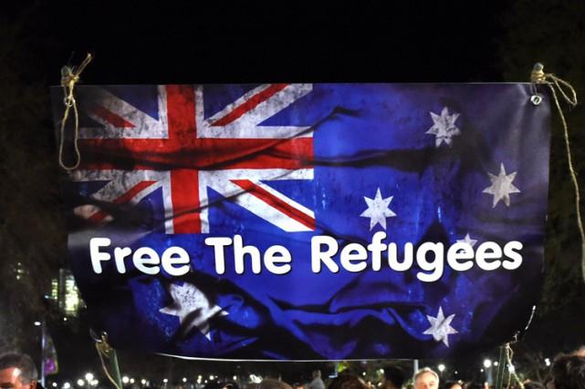 L'Australie va accueillir 12 000 réfugiés supplémentaires en réponse à la crise... (PHOTO AFP)