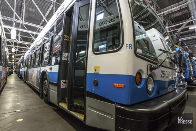 La Société de transport de Montréal attribue le... (PHOTO OLIVIER PONTBRIAND, ARCHIVES LA PRESSE)