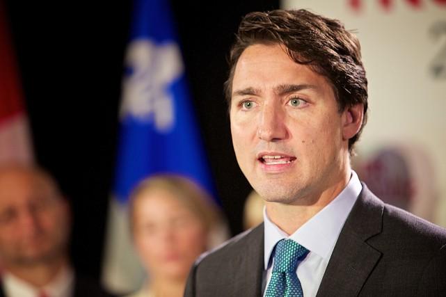 Lors des élections fédérales de 2011, Justin Trudeau... (PHOTO ANDRÉ PICHETTE, LA PRESSE)