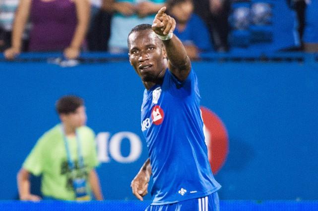 DidierDrogba a été élu joueur de la semaine... (PHOTOGRAHAM HUGHES, LA PRESSE CANADIENNE)