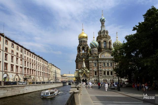 Saint-Pétersbourg, ancienne capitale impériale, a accueilli 25 900... (PHOTO BERNARD BRAULT, ARCHIVES LA PRESSE)