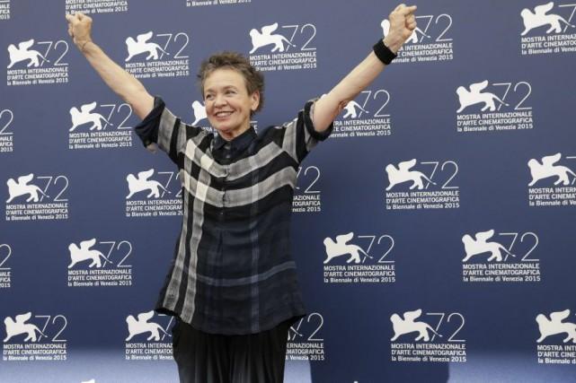 La réalisatrice Laurie Anderson a présenté Heart of... (PHOTO AFP)