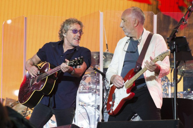 Roger Daltrey et Pete Townshed du groupe The... (PHOTO ARCHIVES AP)