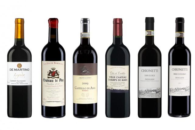 Tous les vins ne sont pas faits pour la garde. Mais ceux qui le sont changent... (Photos fournies par la SAQ)