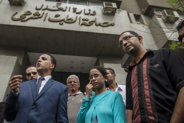 Lesavocats de Mariam Malakpensent que ses copies ont... (PHOTO KHALED DESOUKI, AFP)