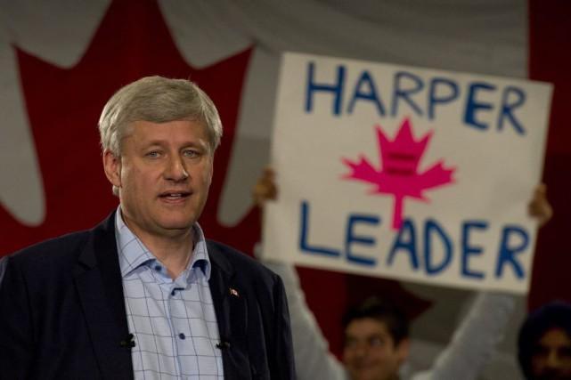 Stephen Harper... (Adrian Wyld, La Presse Canadienne)