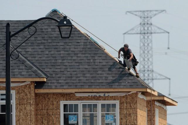 Le marché de l'habitation au Canada a été... (PHOTO ARCHIVES LA PRESSE CANADIENNE)