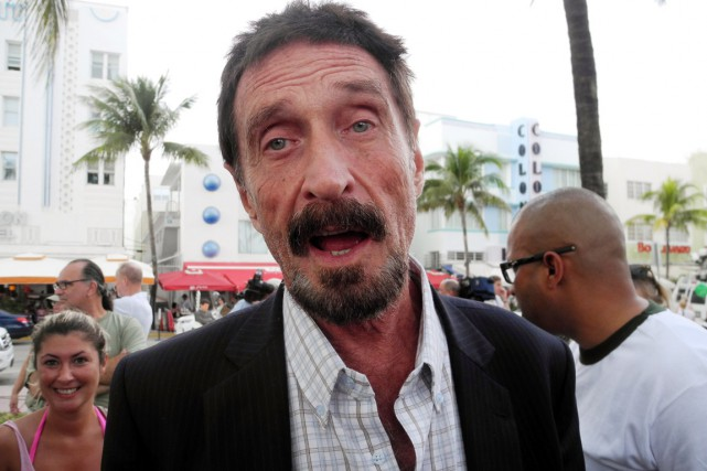 John McAfee a déclaré au site Ars Technica... (PHOTO PAULA BUSTAMANTE, ARCHIVES AFP)