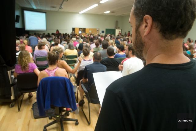 Le Cégep de Sherbrooke sera perturbé par une grève de ses professeurs au cours... (Imacom, René Marquis)