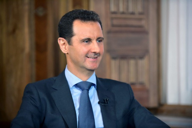 Bachar al-Assad.... (PHOTO ARCHIVES AFP)