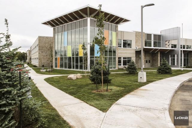 Construite au coût de 15,3 millions $, la... (Patrick Woodbury, LeDroit)
