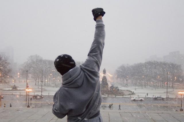 Sylvester Stallone incarne le boxeur Rocky Balboa dans... (PHOTO FOURNIE PAR MGM)