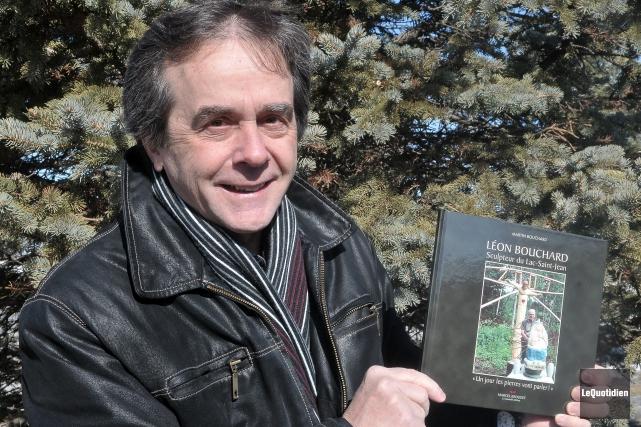 Martin Bouchard, président de la Société d'histoire du... ((Archives Le Quotidien))