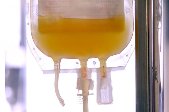 L'Intercept augmenterait les coûts de transfusion étant donné... (Photo Shutterstock, Li Wa)