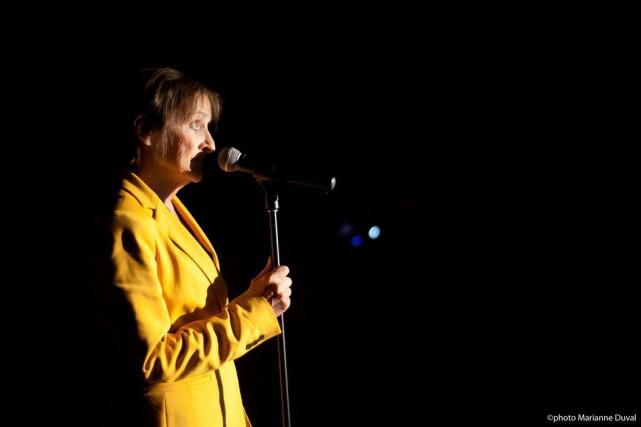 La pièce #pigeonsaffamésde la directrice artistique du Théâtre... (Courtoisie Marianne Duval)