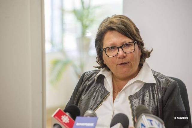 Depuis 2014, la vérificatrice générale de Trois-Rivières, Andrée... (Photo: Stéphane Lessard, Le Nouvelliste)