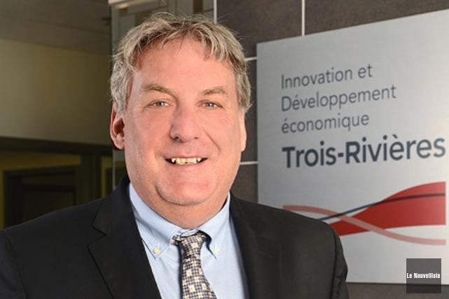 Le directeur général d'IDE Trois-Rivières, Mario De Tilly.... (Photo: Stéphane Lessard, Le Nouvelliste)