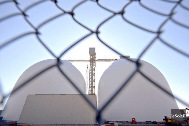 La construction de silos très semblables à ceux... (Photothèque le soleil, Pascal Ratthé)