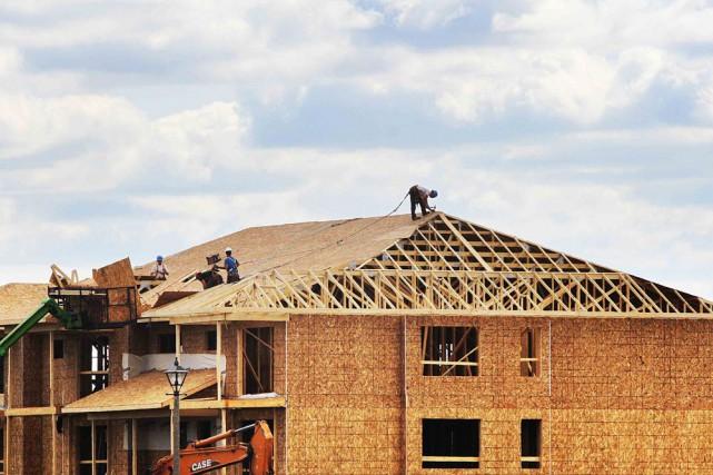 Le secteur de la construction a repris de... (Étienne Ranger, LeDroit)