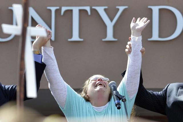 L'arrestation a scandalisé la droite religieuse, et certains... (PHOTO TIMOTHY D. EASLEY, ARCHIVES AP)