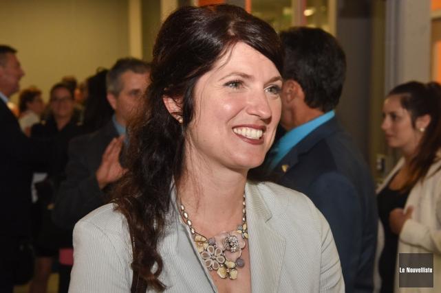 Nancy Déziel, directrice générale du CNETE.... (Photo: François Gervais, Le Nouvelliste)
